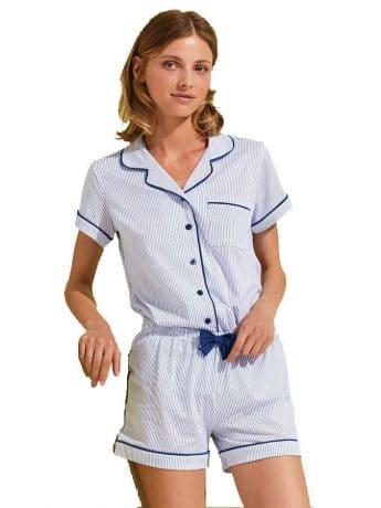 91a2625b4222 Γυναικείο Baby Doll Σε Απαλό Μπλε Χρώμα